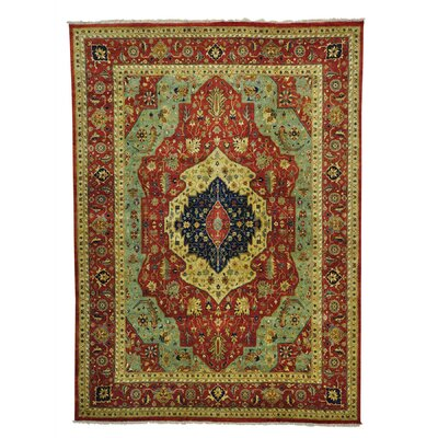 One-of-a-Kind Salzman Re-creation Oriental Hand-Knotted Area Rug Rug Size: Rectangle 10 x 139