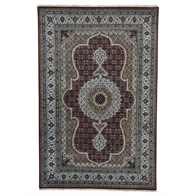 One-of-a-Kind Samford Oriental Hand-Knotted Silk Area Rug