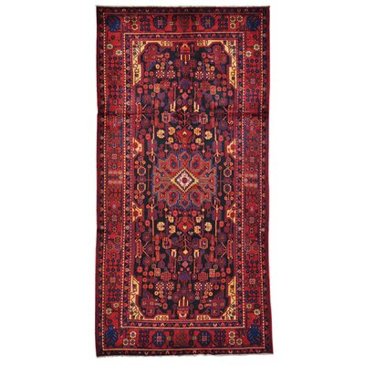 One-of-a-Kind Govan Nahavand Hand-Knotted Area Rug