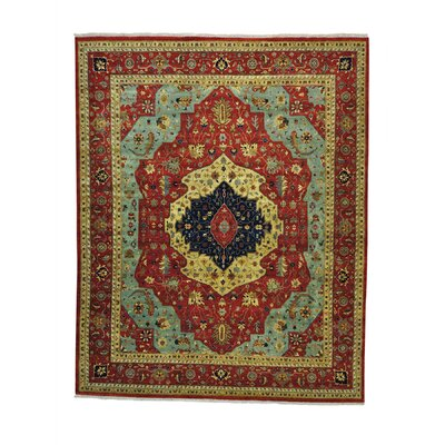 One-of-a-Kind Salzman Re-creation Oriental Hand-Knotted Area Rug Rug Size: Rectangle 12' x 14'10