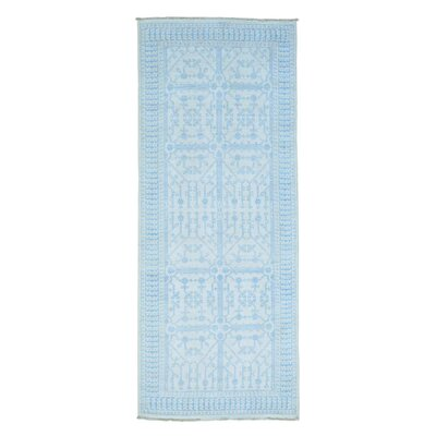Pomegranate Samarkand Gallery Hand-Knotted Ivory Area Rug
