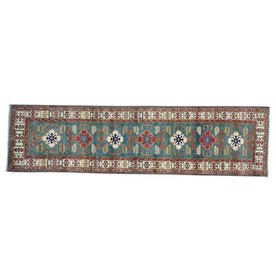 One-of-a-Kind Tillman Geometric Super Hand-Knotted Area Rug
