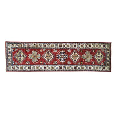 One-of-a-Kind Tillman Super Oriental Hand-Knotted Red Area Rug