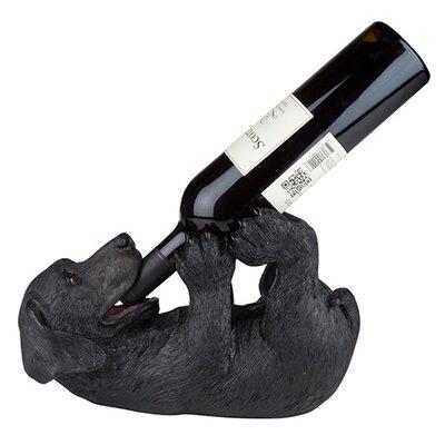 Lucky Lab Tabletop Wine Bottle Rack