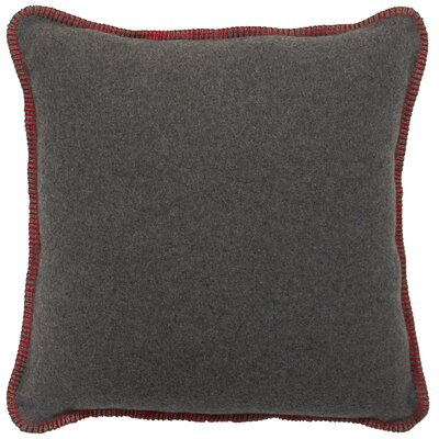 Jeffrey Throw Pillow Color: Red
