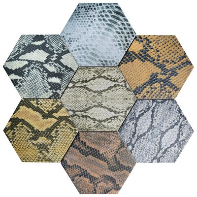 Narra Hex 8.63 x 9.88 Porcelain Field Tile