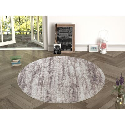 Novotny Brown Indoor/Outdoor Area Rug Size: Round 47