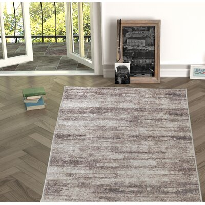 Novotny Brown Indoor/Outdoor Area Rug Size: Rectangle 27 x 66