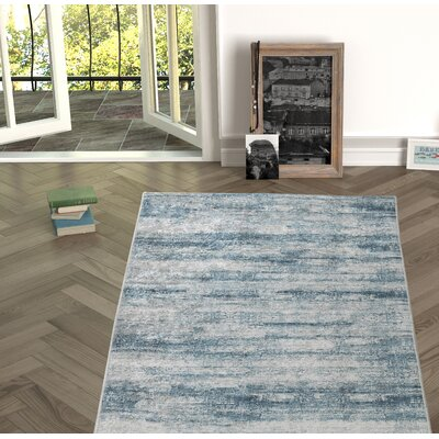 Novotny Green Indoor/Outdoor Area Rug Size: Rectangle 53 x 76