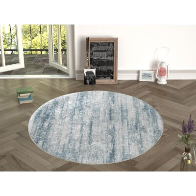 Novotny Green Indoor/Outdoor Area Rug Size: Round 47