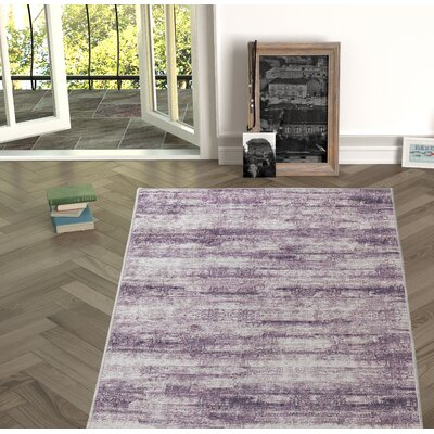 Novotny Maroon Indoor/Outdoor Area Rug Size: Rectangle 53 x 76