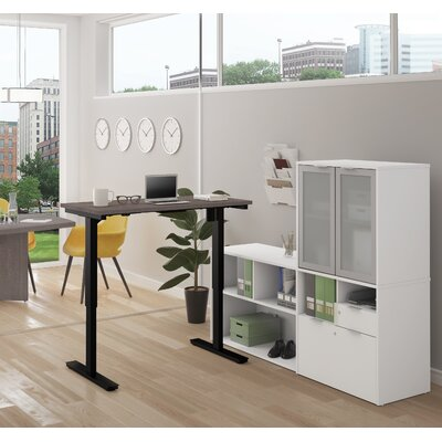 Purchase Adjustable Computer Desk Hutch Product Photo