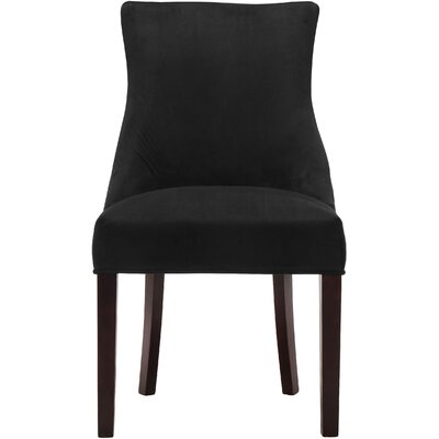 Lampert Upholstered Dining Chair Upholstery: Black