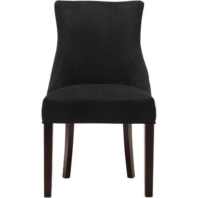 Lampert Upholstered Dining Chair Upholstery: Black