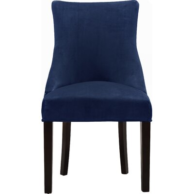 Lampert Upholstered Dining Chair Upholstery: Navy