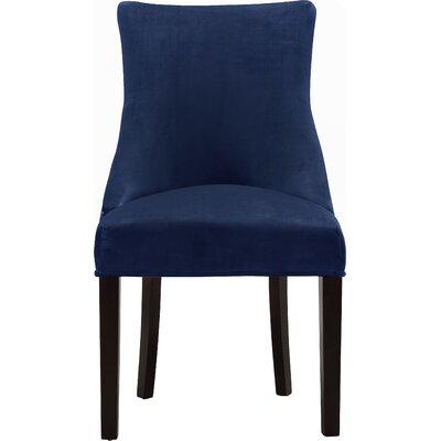 Lampert Upholstered Dining Chair Upholstery: Navy