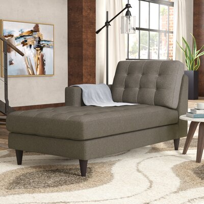 Warren Chaise Lounge Upholstery: Oatmeal, Orientation: Right Hand Facing