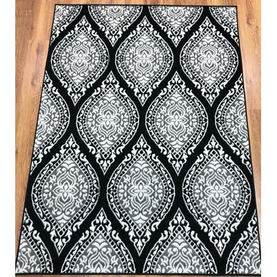 Emilio Gray Indoor Area Rug Rug Size: Rectangle 5' x 7'
