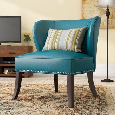 Boyers Slipper Chair Upholstery: Teal