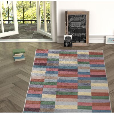 Forestville Red Indoor/Outdoor Area Rug Size: Rectangle 27 x 66