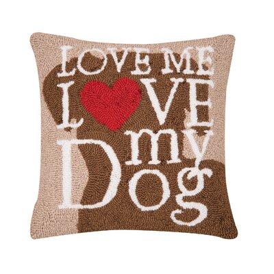 Emeril Dog Love Throw Pillow