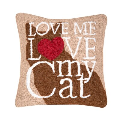 Emerystone Cat Love Throw Pillow