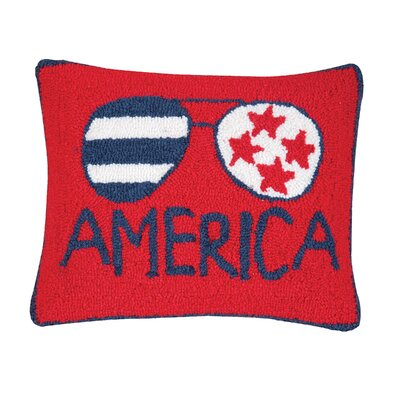 Deskins America Throw Pillow