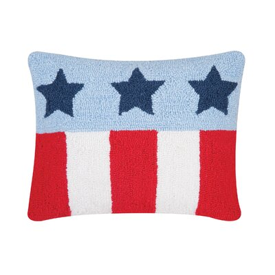 Deskins Stars and Stripes Lumbar Pillow