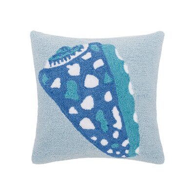 Hargett Shell Throw Pillow