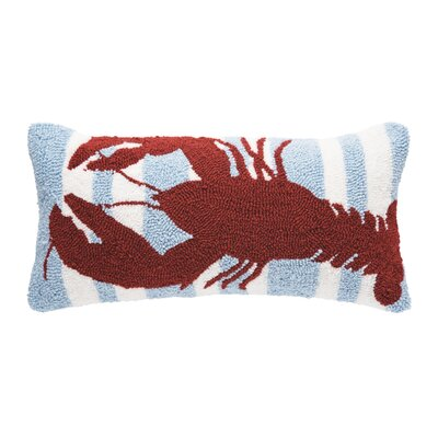 Desmarais Striped Lobster Lumbar Pillow