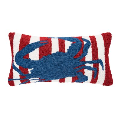 Desmarais Striped Crab Lumbar Pillow