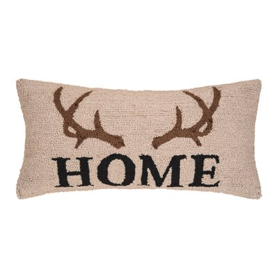 Reding Antler Lodge Throw Pillow
