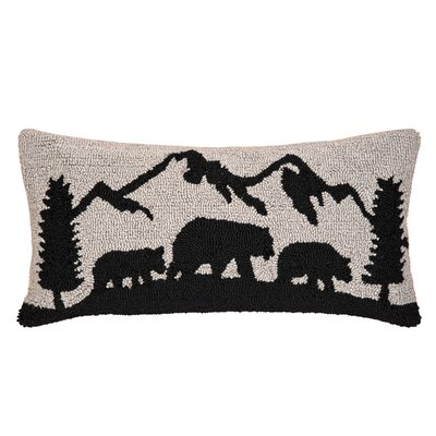 Redinger Black Bear Mountain Throw Pillow