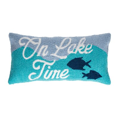 Hargraves On Lake Time Lumbar Pillow