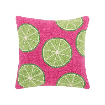 Sanderling Limes Throw Pillow