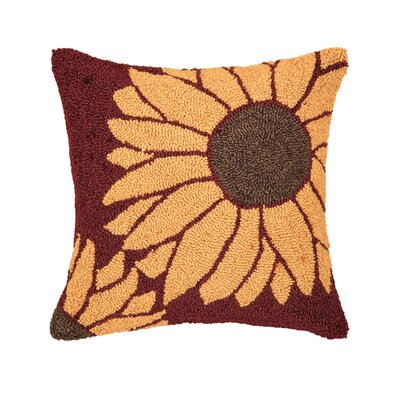 Evins Sunflowers Throw Pillow