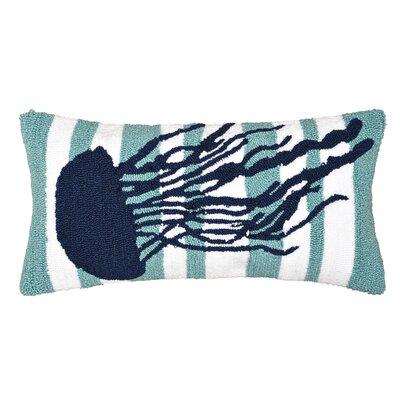 Desmarais Striped Jellyfish Throw Pillow