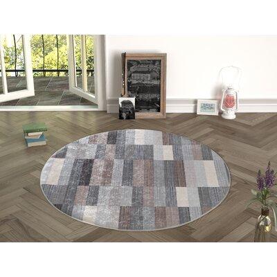 Forestville Brown/Gray Indoor/Outdoor Area Rug Size: Round 47
