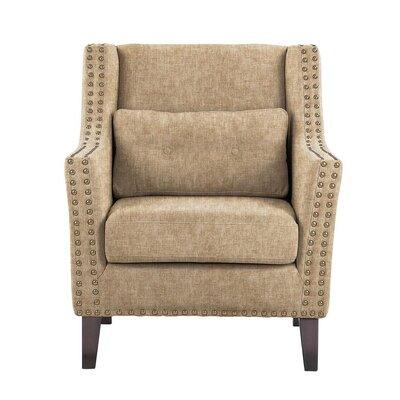 Soila Armchair Upholstery: Tan/Beige