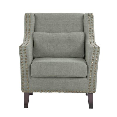 Way Wick Armchair Upholstery: Gray