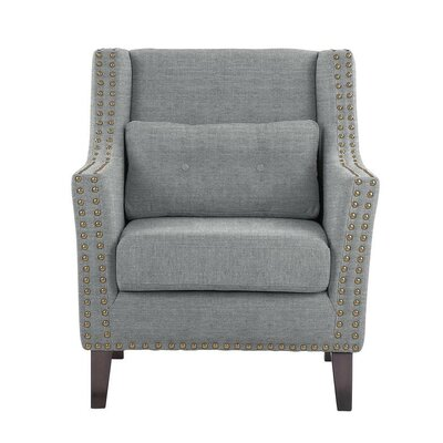 Way Wick Armchair Upholstery: Blue/Gray
