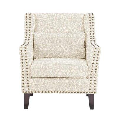 Soila Armchair Upholstery: White/Cream