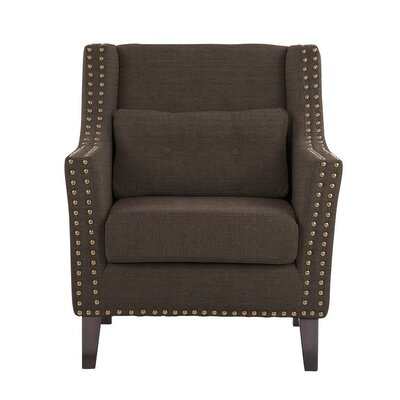Way Wick Armchair Upholstery: Brown