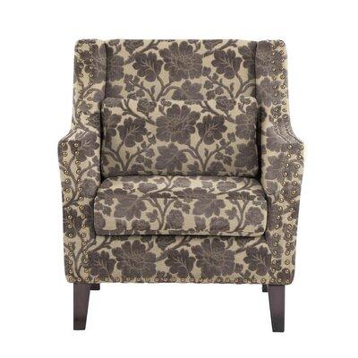 Soila Armchair Upholstery: Beige/Gray