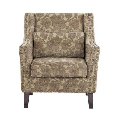 Soila Armchair Upholstery: Beige/Brown