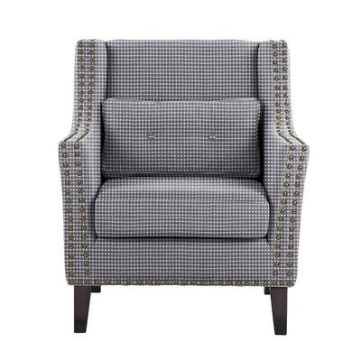 Soila Armchair Upholstery: Blue/White