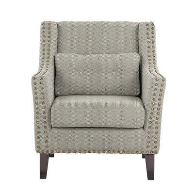 Soila Armchair Upholstery: Gray