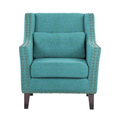 Soila Armchair Upholstery: Teal