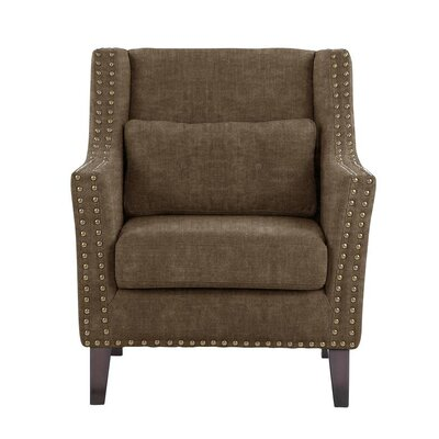 Soila Armchair Upholstery: Brown