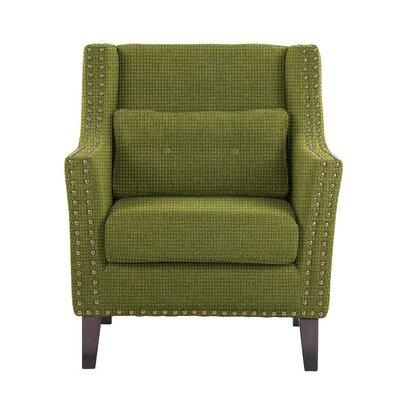 Soila Armchair Upholstery: Green
